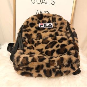 FILA - mini leopard backpack